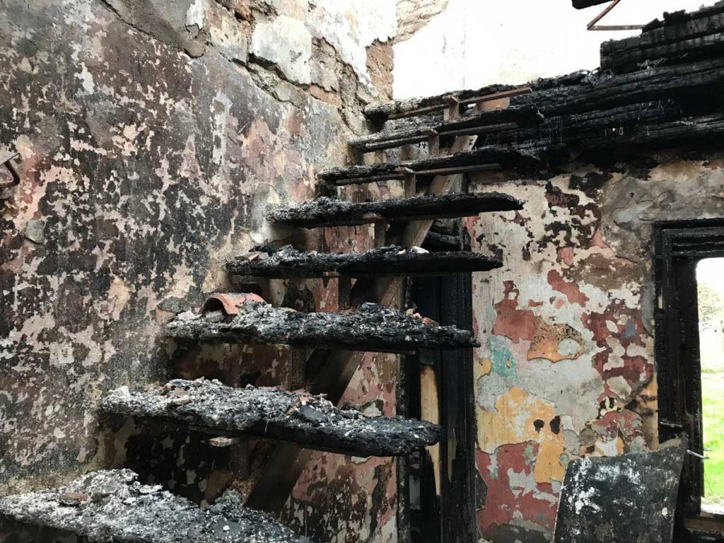 Incendio abitazione causa elettrica 3